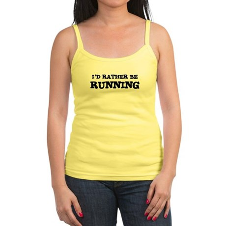 Rather be Running Jr. Spaghetti Tank