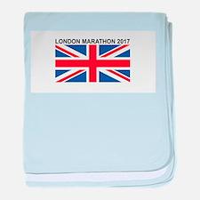 2017 London Marathon baby blanket