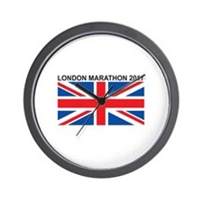 2017 London Marathon Wall Clock