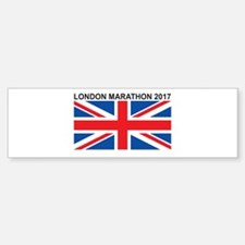 2017 London Marathon Bumper Bumper Sticker