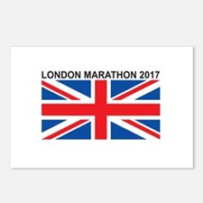 2017 London Marathon Postcards (Package of 8)