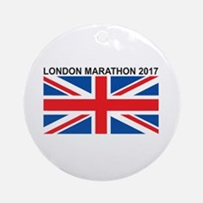 2017 London Marathon Ornament (Round)