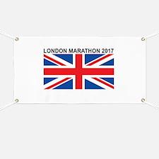 2017 London Marathon Banner