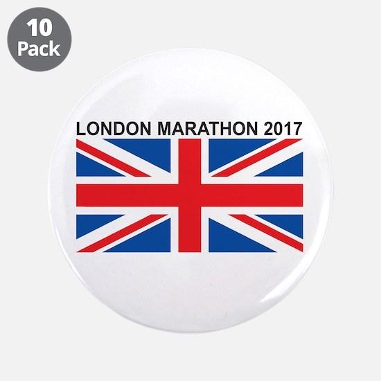 "2017 London Marathon 3.5"" Button (10 pack)"