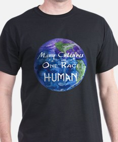 Many Cultures, One Race... T-Shirt