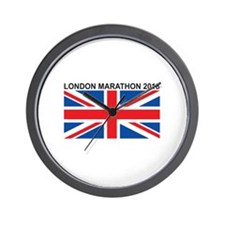 2018 London Marathon Wall Clock