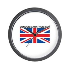 2020 London Marathon Wall Clock