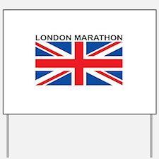 London Marathon Yard Sign