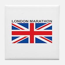 London Marathon Tile Coaster