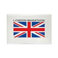 London Marathon Rectangle Magnet
