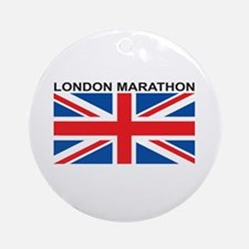 London Marathon Ornament (Round)
