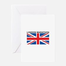 London Marathon Greeting Card
