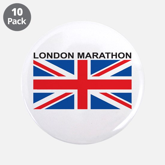 "London Marathon 3.5"" Button (10 pack)"