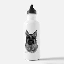 Rikko, German Shepherd, Polic Water Bottle