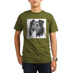 Shetland Sheepdog (Sheltie) Organic Men's T-Shirt