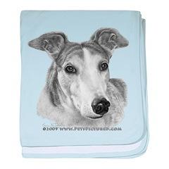 Zoie, Greyhound baby blanket