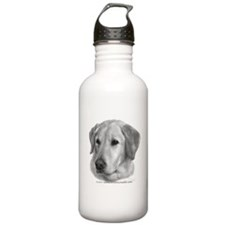 Yellow Labrador Retriever Chr Water Bottle