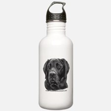 Diesel, Black Lab Water Bottle