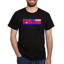 Peacemonger Black T-Shirt