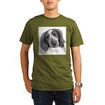 Welsh Springer Spaniel Organic Men's T-Shirt (dark