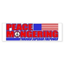 Peacemonger Bumper Bumper Sticker