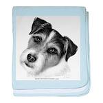 Jack (Parson) Russell Terrier baby blanket