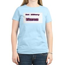 One Hot Military Mama  Women's Pink T-Shirt
