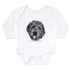 Labradoodle Long Sleeve Infant Bodysuit