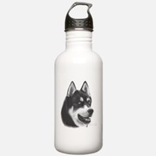Siberian Husky Water Bottle