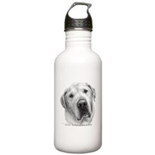 Max, Lab-Bull Terrier Mix Water Bottle