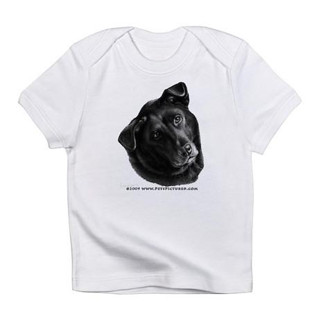 Corvis, Black Lab Mix Infant T-Shirt