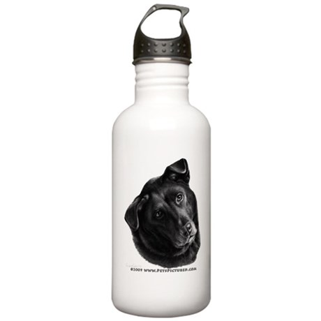 Corvis, Black Lab Mix Stainless Water Bottle 1.0L