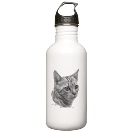 Bengal Cat Stainless Water Bottle 1.0L