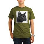 Havana Brown Cat Organic Men's T-Shirt (dark)