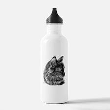 Tortoise Long-Hair Cat Water Bottle