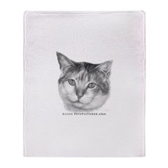Calico Cat Throw Blanket