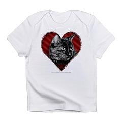 Kitty Heart Infant T-Shirt