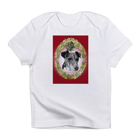 Fox Terrier Christmas Infant T-Shirt