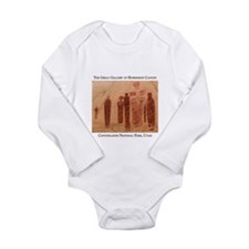 Great Gallery Pictographs Long Sleeve Infant Bodys