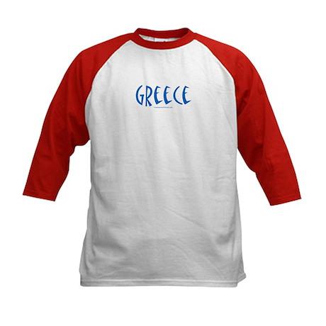 Greece - Kids Baseball Jersey