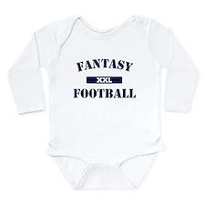 XXL Fantasy Football Long Sleeve Infant Bodysuit