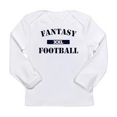 XXL Fantasy Football Long Sleeve Infant T-Shirt