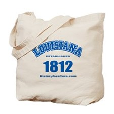 The State of Louisiana Tote Bag