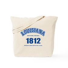The State of Louisiana Tote Bag