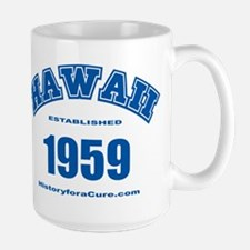 The State of Hawaii Large Mug