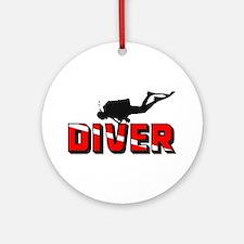Diver Ornament (Round)