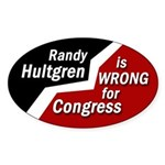 Randy Hultgren Congress bumpersticker