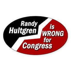 Randy Hultgren Congress bumpersticker