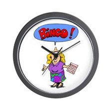 Bingo Mama Wall Clock