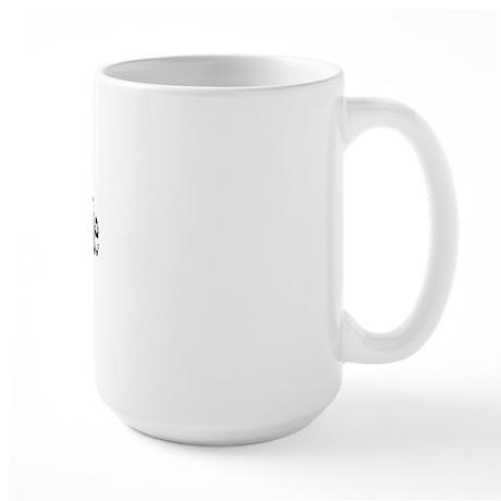 Work'n Down Hole Large Mug